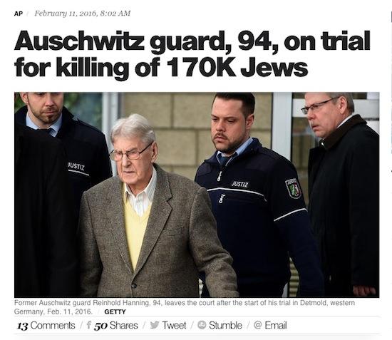 Auschwitz Guard
