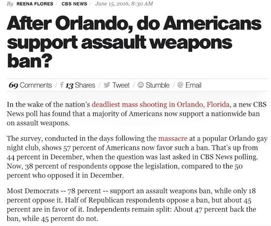 Assault Weapons Ban?
