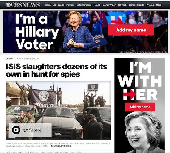 Hillary Juxtapostion